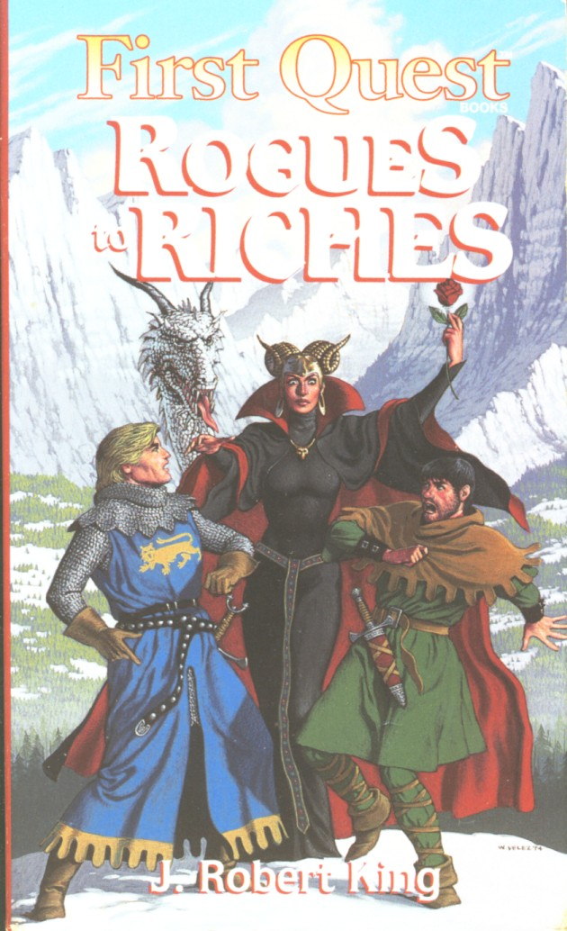 rogues to riches book j robert king ebook