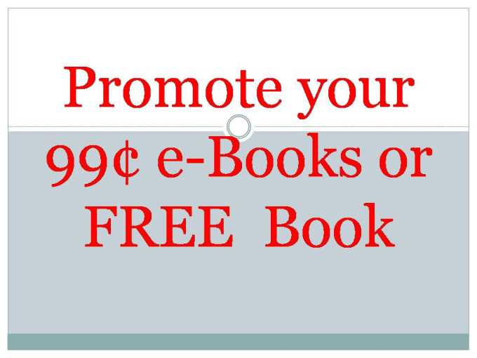 how to promote kindle ebook